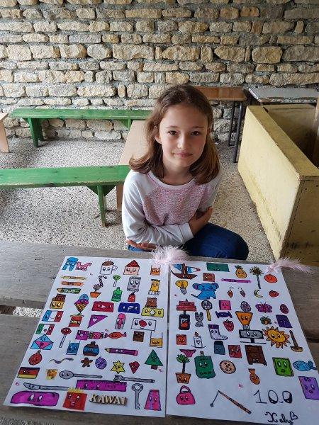 Les 100 dessins